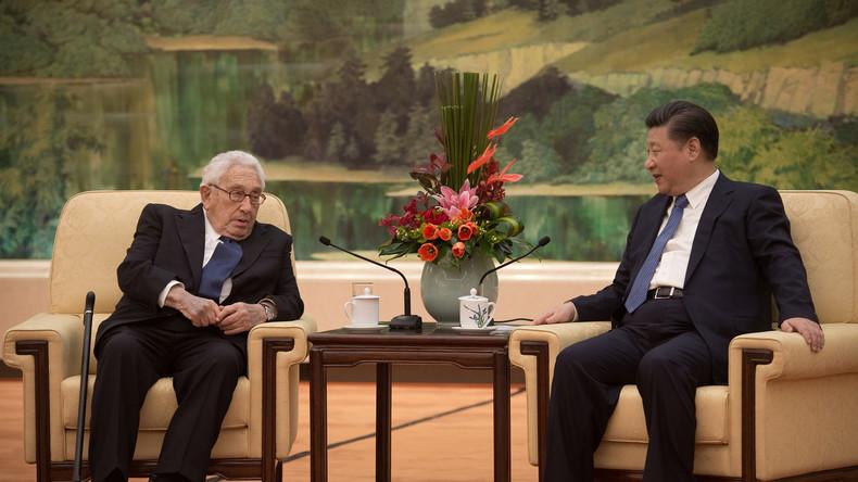 Kissinger: USA und China bilden weltweit wichtigstes Beziehungsgeflecht des 21. Jahrhunderts