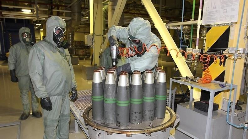 Weiterer Schritt zu mehr Balance in der Welt: Russland vernichtet seine letzten Chemiewaffen