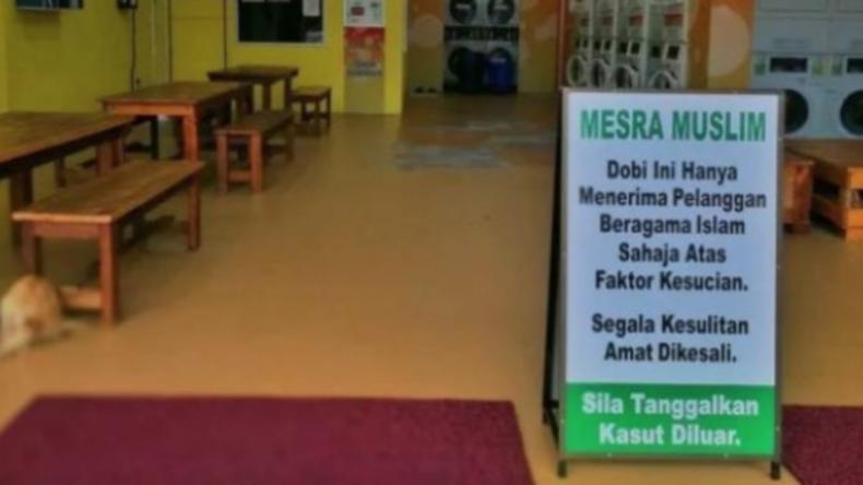 Sauberkeit hat keine Religion: Malaysischer Waschsalon muss Besuchsverbot für Nicht-Muslime aufheben