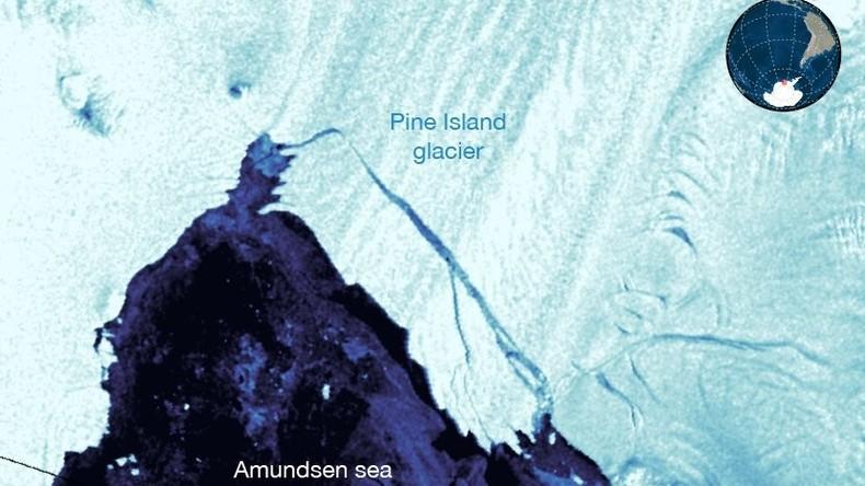 Gewaltiger Eisberg von der Größe Frankfurts in Antarktis abgebrochen