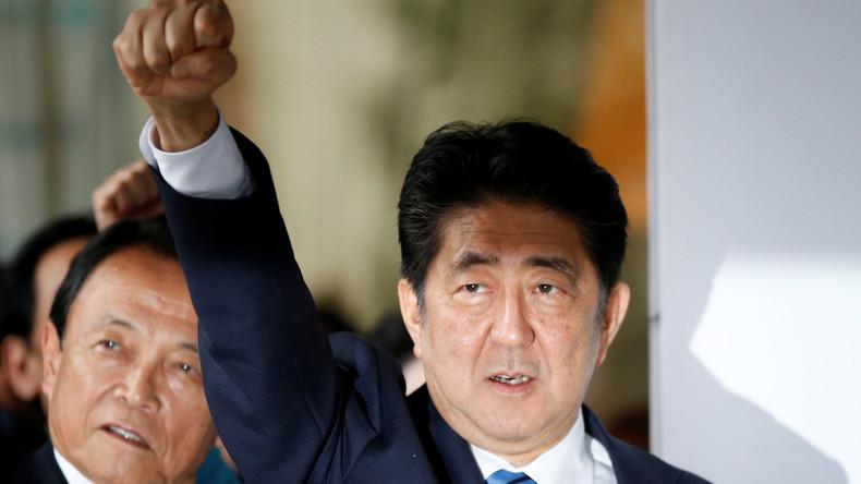 Japanischer Premierminister Abe löst Parlament auf