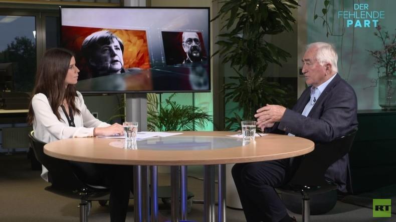 """""""Die GroKo hat nichts mit dem Versagen der SPD zu tun"""" - Albrecht Müller über die Bundestagswahlen"""