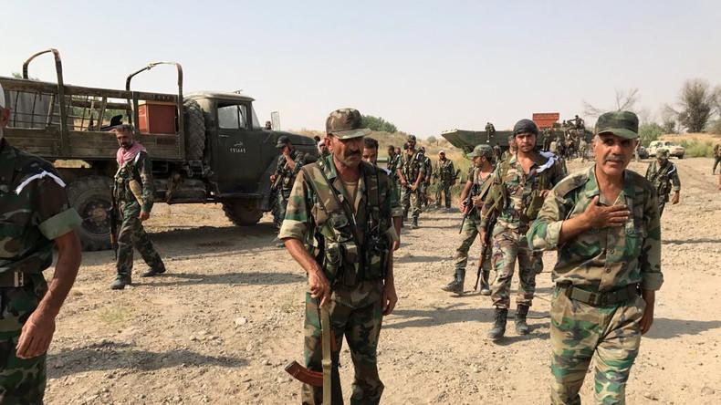 """Kampf um Deir ez-Zor - Syrische Armee zu RT: """"Blatt hat sich gewendet, aber wir zahlen hohen Preis"""""""