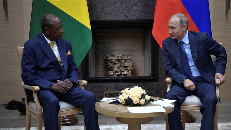 Russland streicht afrikanischen Ländern Schulden im Wert von 20 Milliarden Dollar