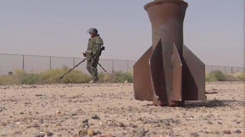Russische Pioniere entschärfen über 1.500 Sprengsätze in syrischer Stadt Deir ez-Zor