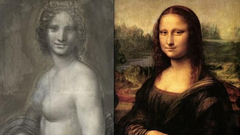 Skizze von nackter Mona Lisa in Frankreich entdeckt – Experten des Louvre