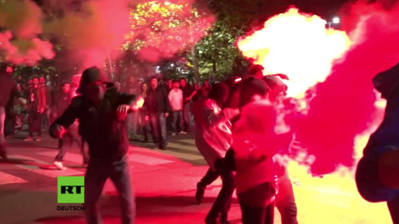 Italien: Demonstranten und Polizei treffen in Turin rund um G7-Gipfel aufeinander