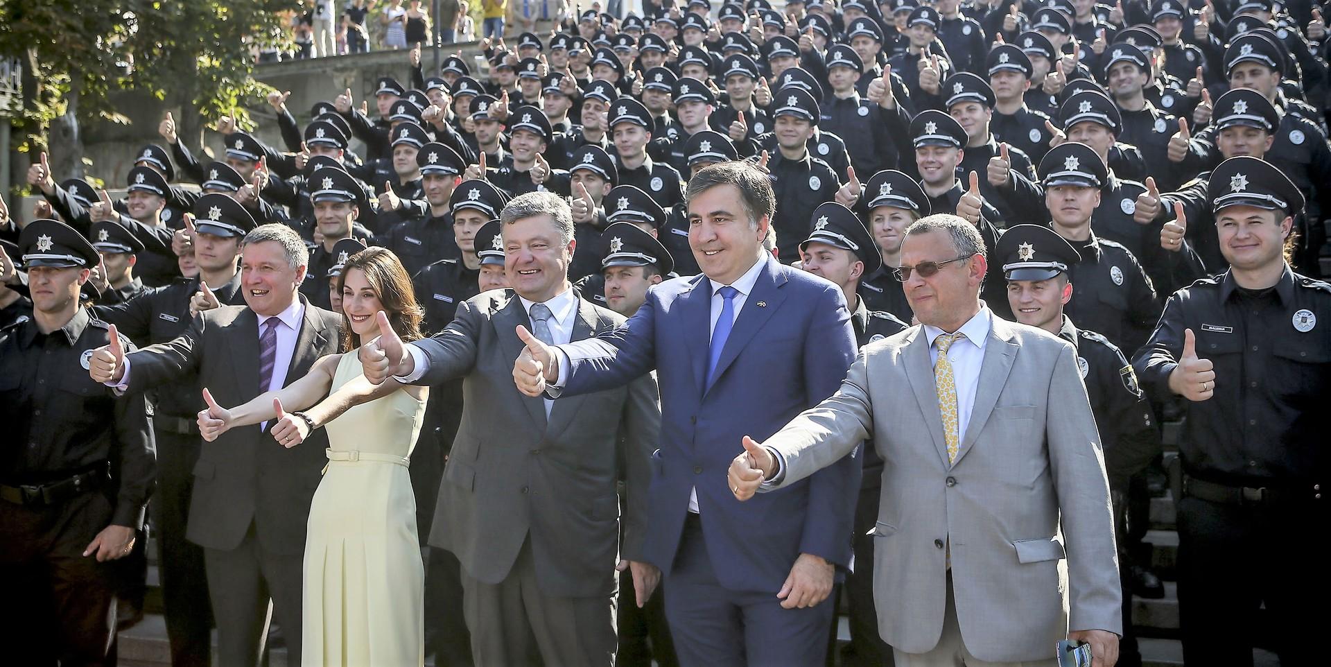 Vom Freund zum Feind: Michail Saakaschwilis Unterstützer bekommen in der Ukraine Morddrohungen
