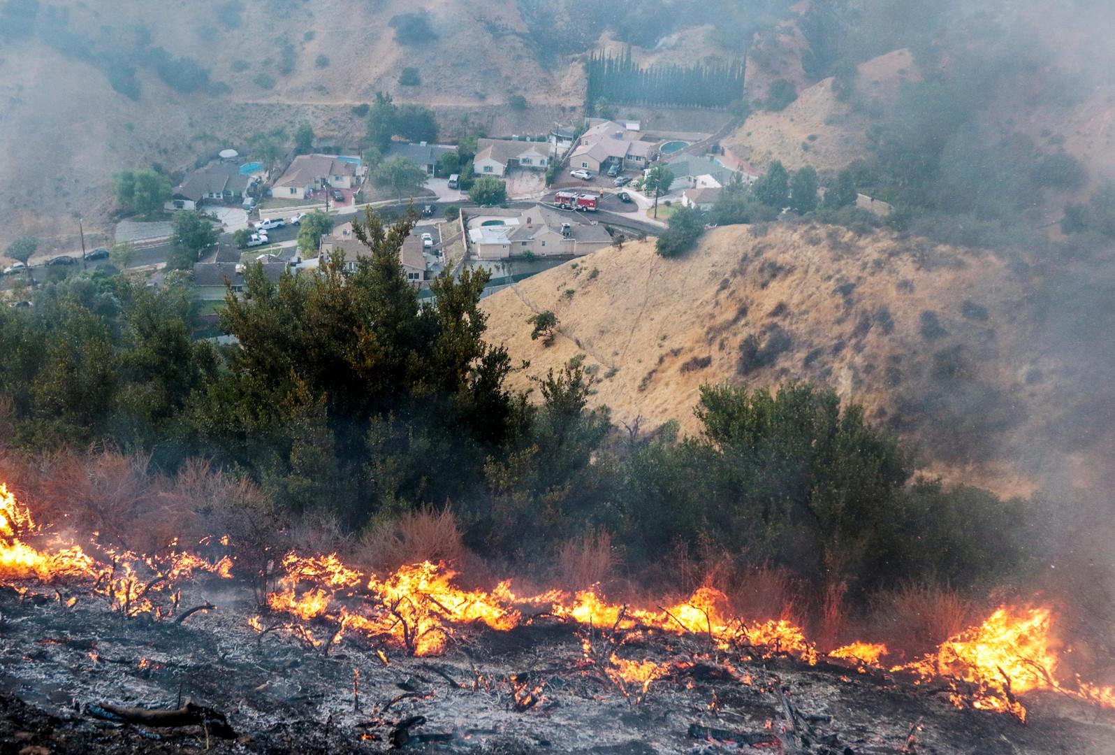 Schwere Waldbrände im Westen der USA wegen Hitze und Trockenheit [FOTOS]