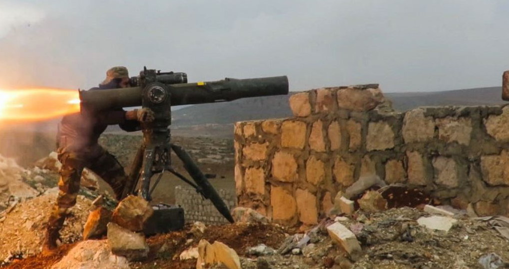 Ein Wasserfall an Waffen: Wie der Westen Syrien zerstört