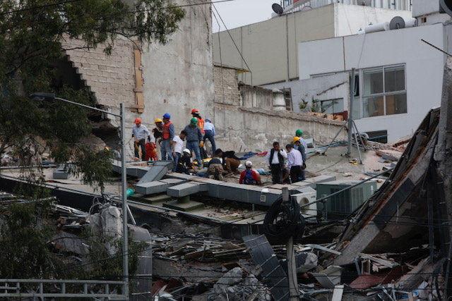 Mexiko: Schweres Erdbeben erschüttert Millionenmetropole