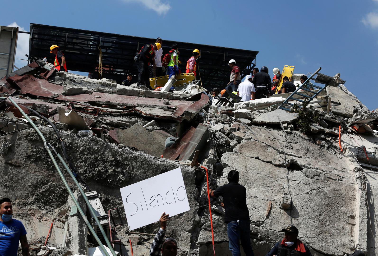 Starkes Erdbeben und mehrere Nachbeben in Mexiko - 150 Todesopfer [FOTOS]