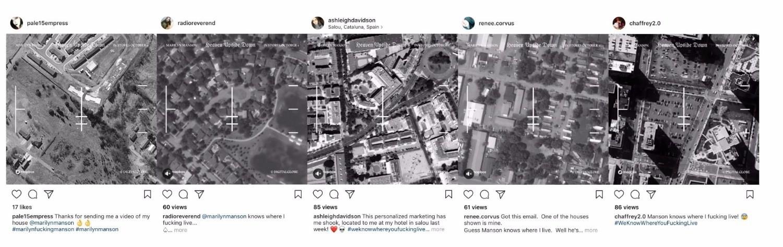 Marilyn Manson weiß, wo seine Fans wohnen: Tausende bekommen Videos von ihren Häusern