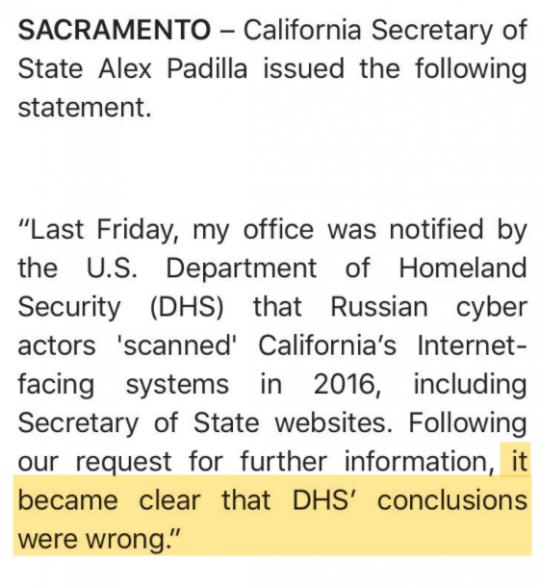 """USA: Weitere """"Russland hat unsere Wahlen gehackt""""-Story stellt sich als erlogen heraus"""