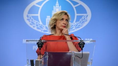 Russlands Außenamtssprecherin: Washington zwingt Moskau zum Verkauf der geschlossenen Vertretungen