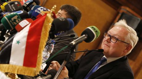 Sergej Rjabkow, stellvertretender Außenminister Russlands.