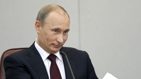 Wladimir Putin in Moskau, 20. April 2011.