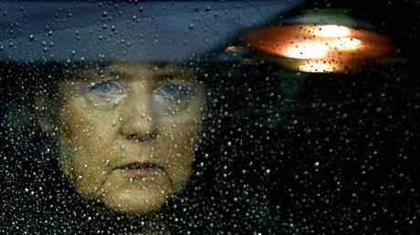 Die Bundeskanzlerin Angela Merkel in Brüssel am 23. November 2012.