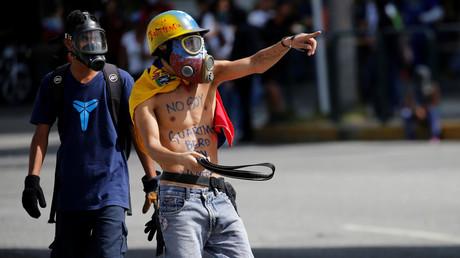 Immer wieder kommt es zu gewaltsamen Zusammenstössen zwischen Demonstranten und Sicherheitskräften.