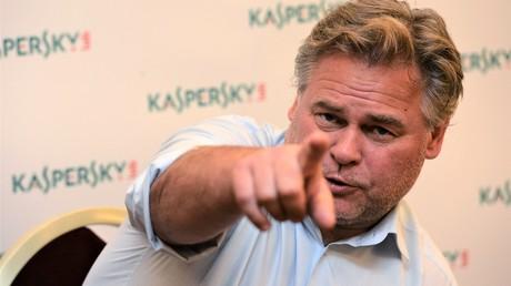 Der Chef des Unternehmens Kaspersky Lab, Jewgeni Kasperky, am 25. Juli 2013 in Tschechien.
