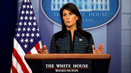 US-Botschafterin der Vereinten Nationen, Nikki Haley