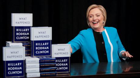 Hillary Clinton vergangene Woche während der Präsentation ihres Buches in einem Buchladen in Manhattan.