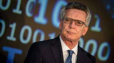 Bundesinnenminister Thomas de Maizière: Russland hat sich bislang nicht in Bundestagswahl eingemischt
