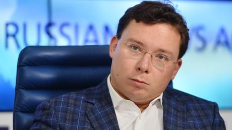 Oleg Bondarenko, der Direktor der Stiftung für progressive Politik