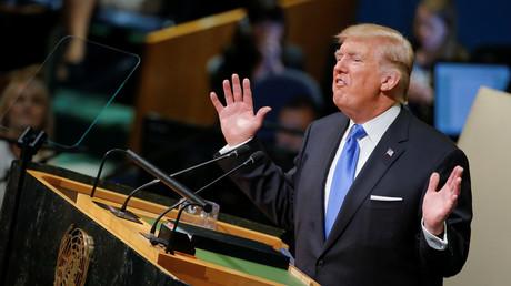 US-Präsident Donald Trump vor der UN-Generalversammlung in New York