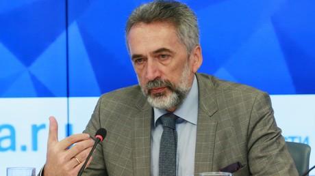 Wladislaw Below, der Leiter des Zentrums für Germanistik am Europainstitut der Russischen Akademie der Wissenschaften.
