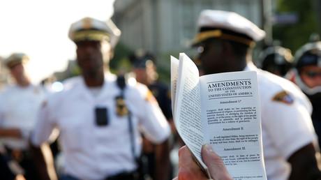 Viele US-Amerikaner kennen nicht die Grundrechte, die ihnen die Verfassung gewährt.