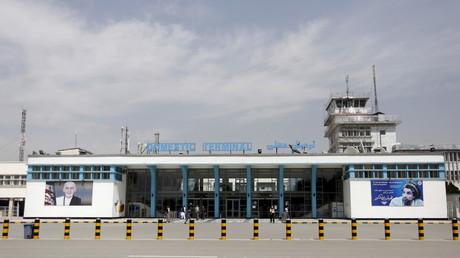 Internationaler Flughafen Hamid Karzai, Kabul, Afghanistan, 29. März 2016.