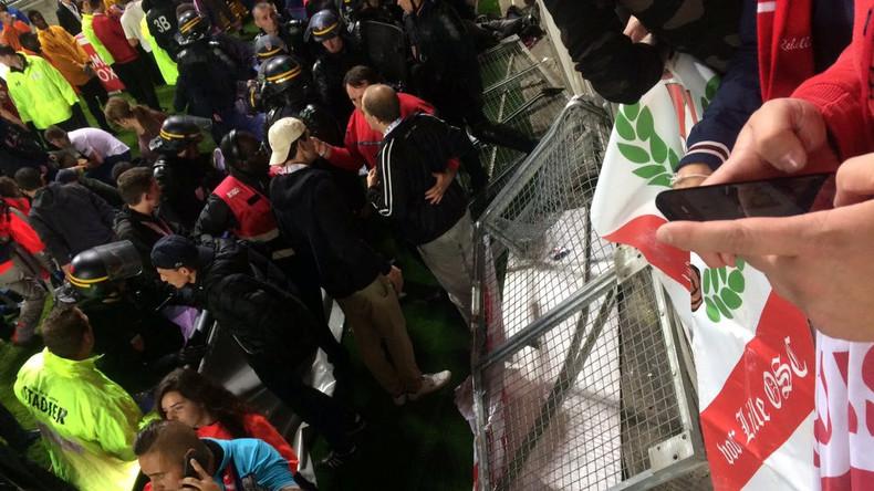 29 Verletzte bei Tribünenunglück in Frankreich