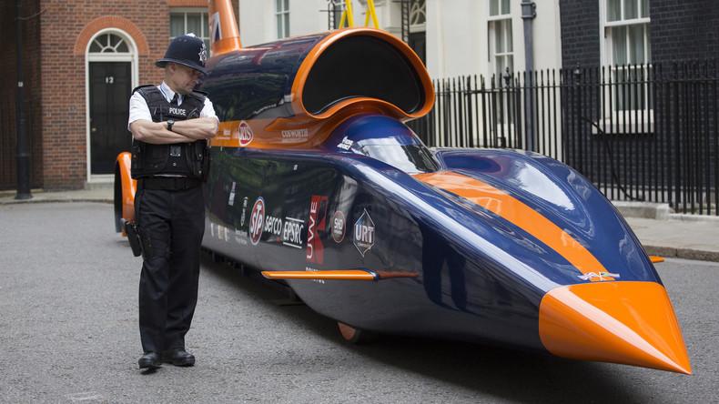 Ingenieure testen in Großbritannien Rennwagen mit Rückstoßantrieb [VIDEO]