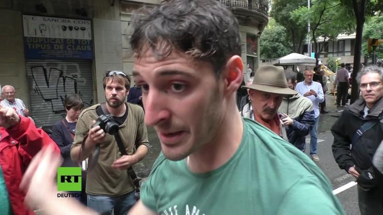 Zahlreiche Verletzte in Spanien nach Einsatz von Tränengas und Schlagstöcken gegen das Referendum
