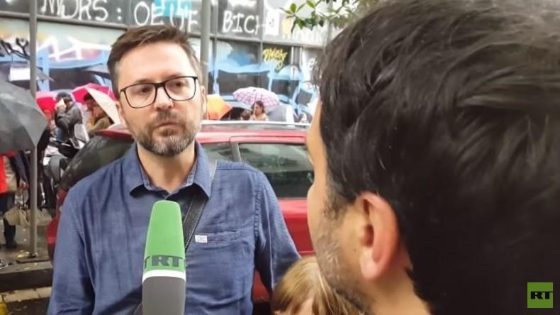 In Barcelona lebender Deutscher zu RT: Regierung hat versäumt Kompromiss zu finden