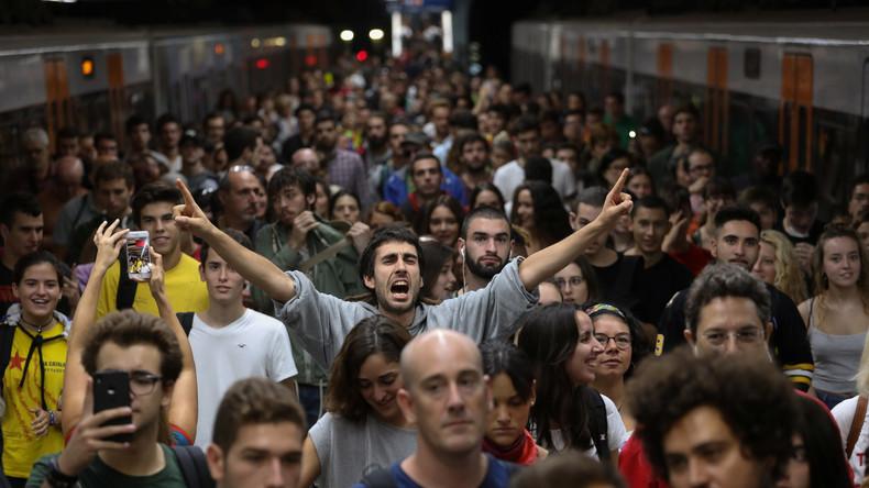 Generalstreik wegen Polizeigewalt beim Referendum in Katalonien – auch FC Barcelona dabei