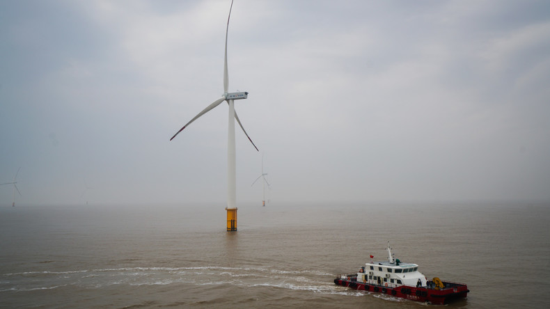 Größter Offshore-Windpark in China in Betrieb genommen [VIDEO]