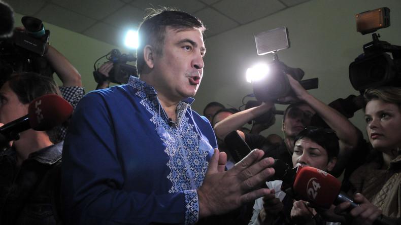 Saakaschwili bittet Kiew um politisches Asyl