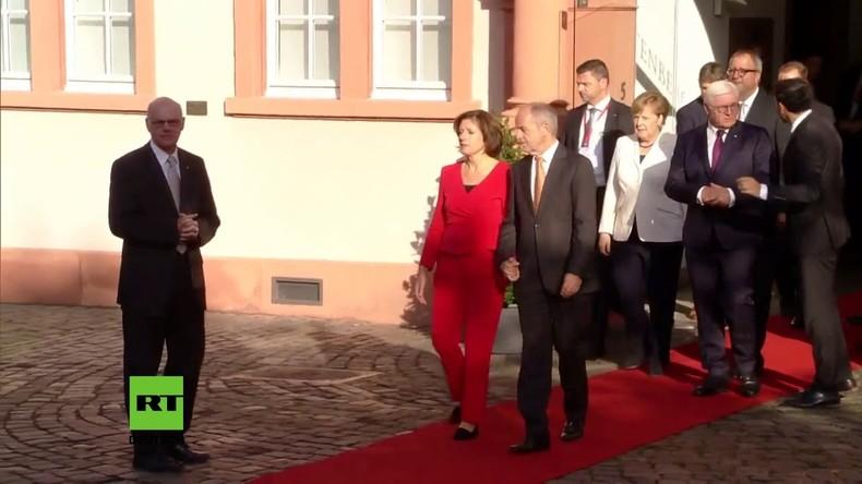 Merkel und Steinmeier besuchen Veranstaltungen zur Wiedervereinigung
