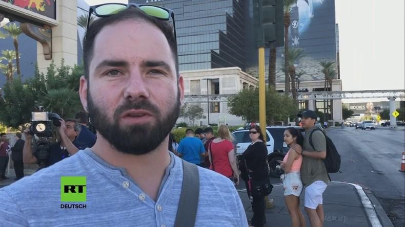 """""""Wow, die tödlichste Schiesserei in der US-Geschichte ist gerade passiert"""" - Bewohner von Las Vegas"""