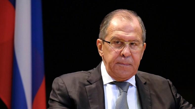 """Lawrow: """"USA arrangieren lebensgefährliche Provokationen gegen russische Militärkräfte in Syrien"""""""
