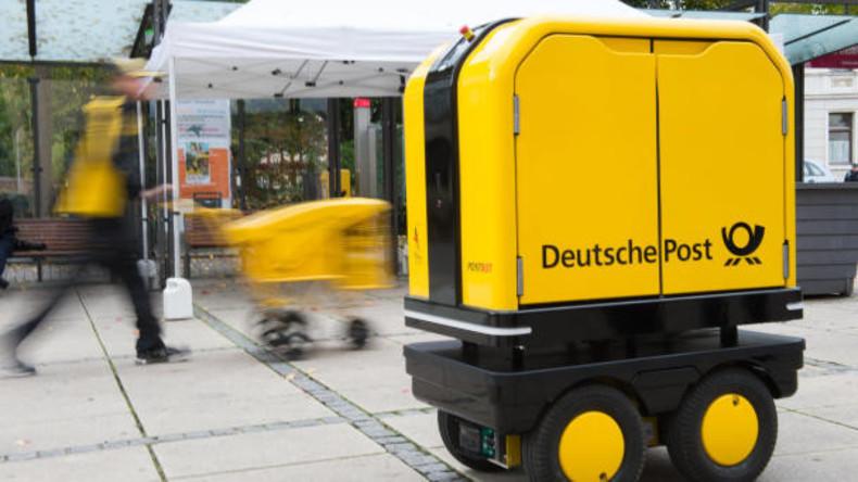 Kleiner Helfer des Briefträgers: Deutsche Post nimmt Begleitroboter in Testbetrieb