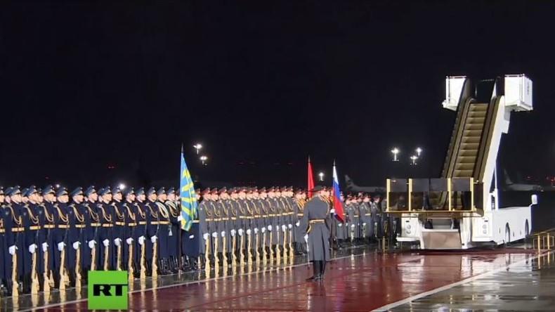 Live: Syrien, USA, OPEC - König von Saudi-Arabien trifft zum historischen Staatsbesuch in Moskau ein