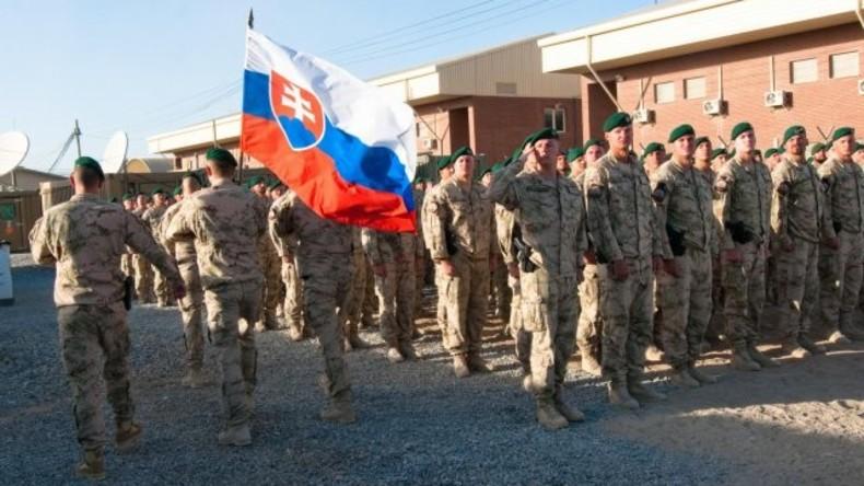 Slowakische Soldaten erstmals seit elf Jahren wieder in den Irak entsandt