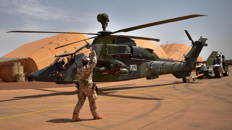 Nach Absturz in Mali: Tiger-Hubschrauber starten erstmals wieder in Einsatz