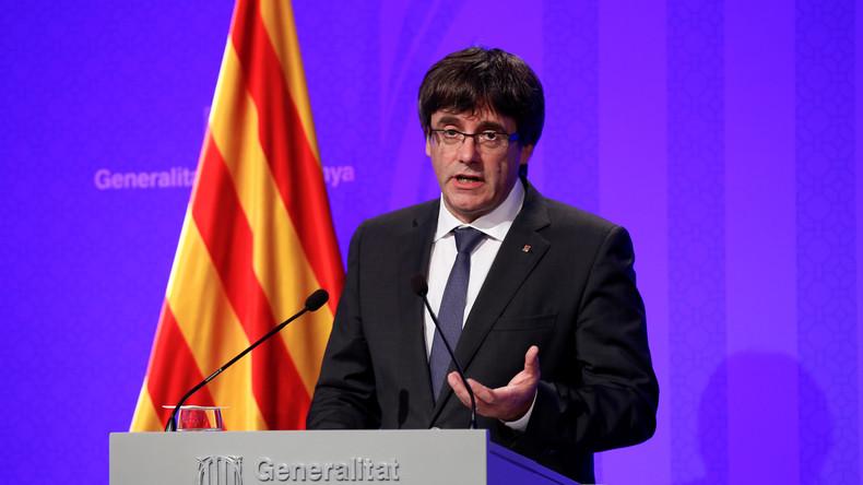 Live: Katalanischer Ministerpräsident hält Rede zum Referendum