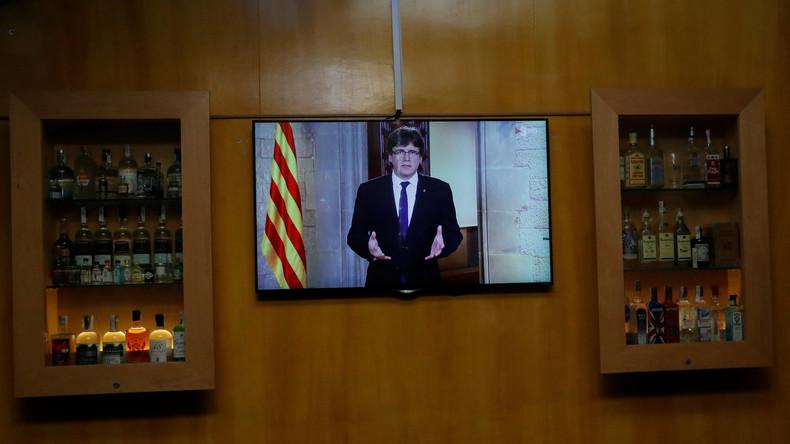 Katalonien-Krise: Puigdemont zeigt sich offen für Dialog - Scharfe Kritik am spanischen König