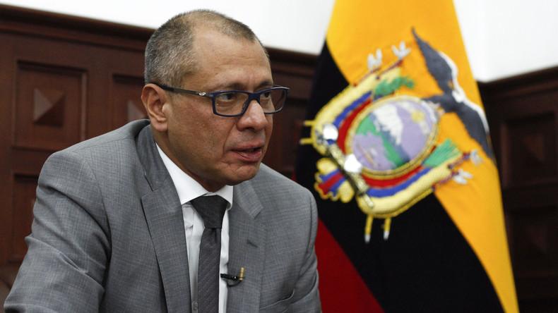 Regierungskrise in Ecuador – Vizepräsident kommt in Untersuchungshaft