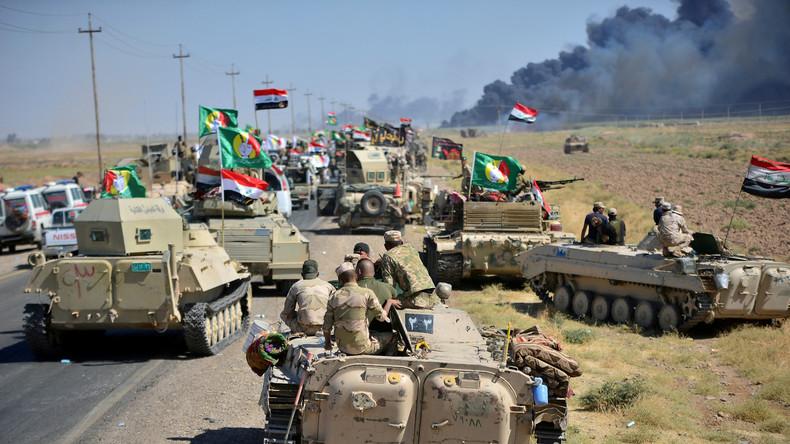 Letzte IS-Hochburg Al-Hawidscha im Nordirak wieder unter Kontrolle irakischer Regierungstruppen
